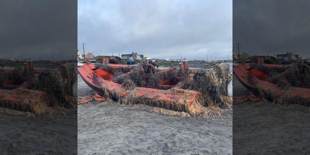 The Doolin Ferry Co. found a U.S. Navy vessel off the coast of Ireland. (Doolin Ferry Co.)